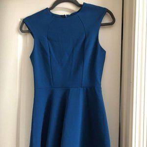 Silence + Noise Royal Blue Cocktail Dress Small